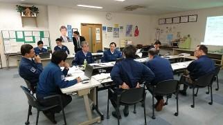TSUNEISHI KAMTECS conducted BCM simulation
